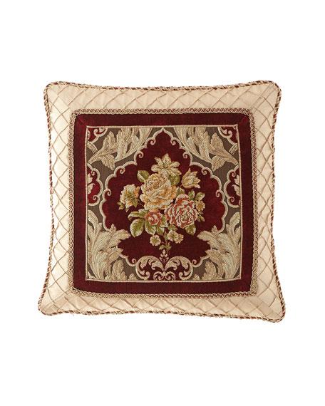 Austin Horn Collection Alias Framed Pillow, 20