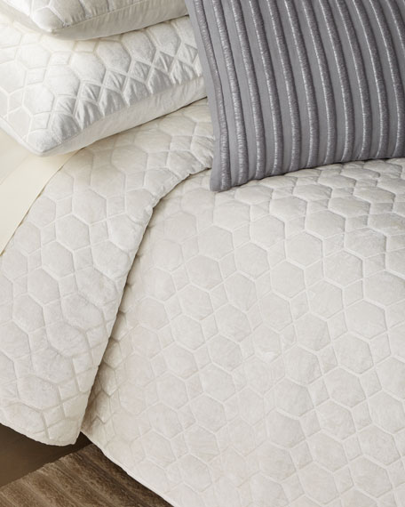 Honeycomb King Quilt