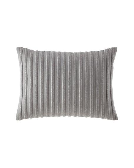 Teal Raised Bullion Embellished Pillow