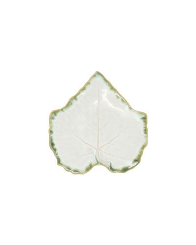 Foglia Stone Bread & Butter Plate