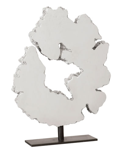 Lava Slice Sculpture on Stand