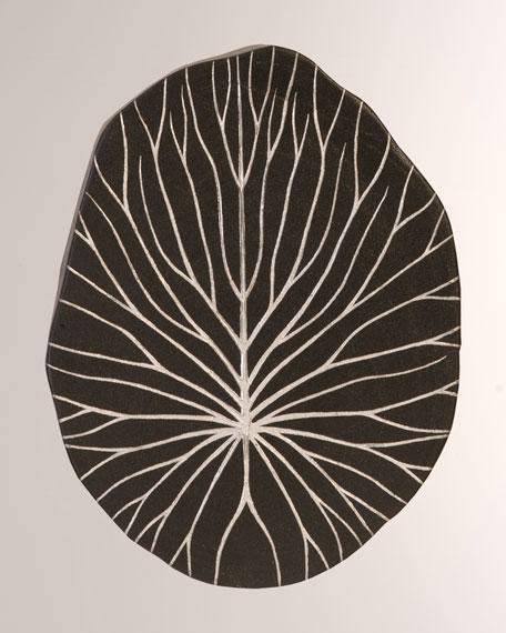 Rivulet Silver Leaf Wall Tile
