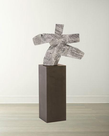 Tai Chi Sculpture on Pedestal