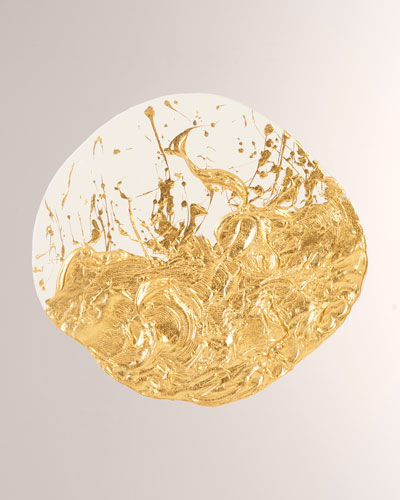 Wisp Gold Leaf Wall Tile