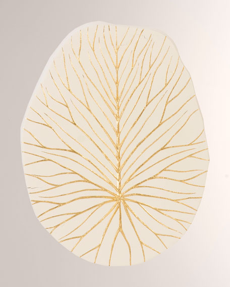 Rivulet Gold Leaf Wall Tile