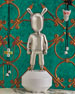 """""""The Guest"""" Figurine - Silver - Little"""