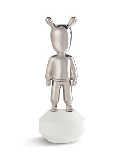 The Guest Figurine - Silver - Little