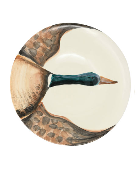 Wildlife Mallard Large Serving Bowl