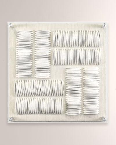Iona Acrylic Quadrant Wall Decor