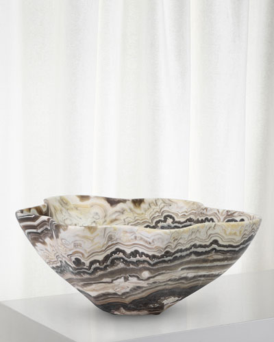 Sonora Large Onyx Bowl