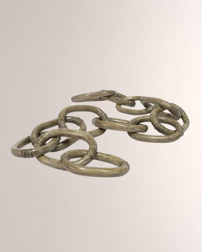 Rattan Chain Link Decor