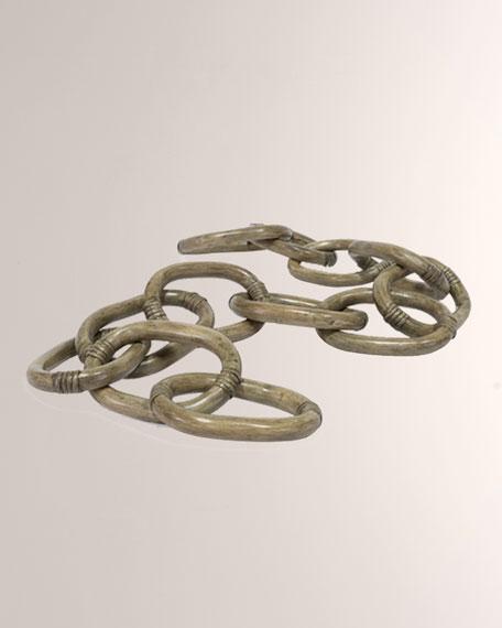 Rattan Chain Link Decor