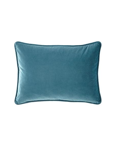 """Contempo Velvet Pillow, 14"""" x 20"""""""