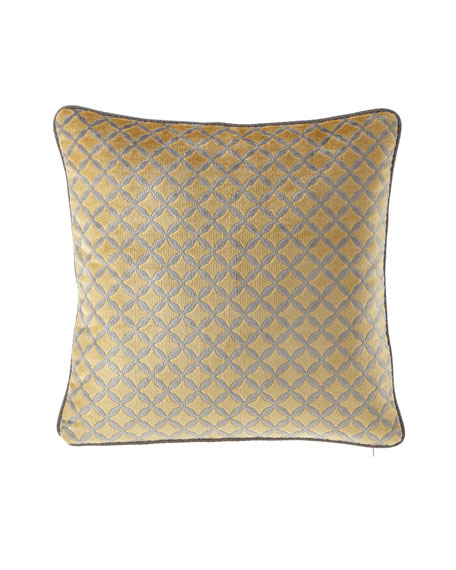 "Lanai Diamond 20x20"" Pillow"