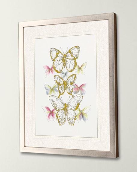 """Butterfly Sketch I"" Giclee Art by Vess"