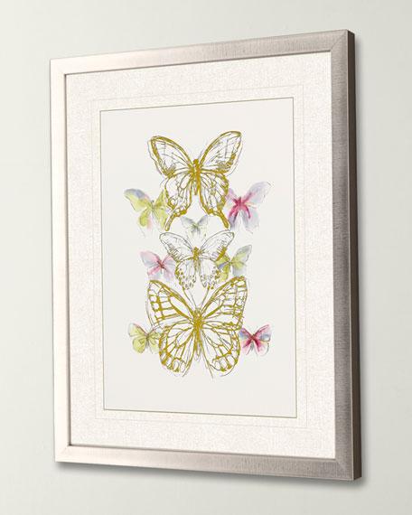"""""""Butterfly Sketch II"""" Giclee Art by Vess"""