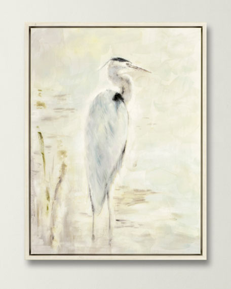 """Great Blue"" Giclee Canvas Art by Adams"