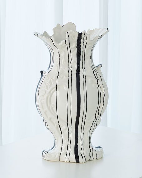 Global Views Barcode Vase