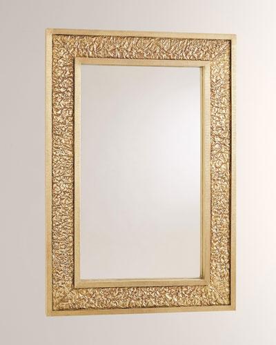 Crinkle Mirror - Brass/Bronze