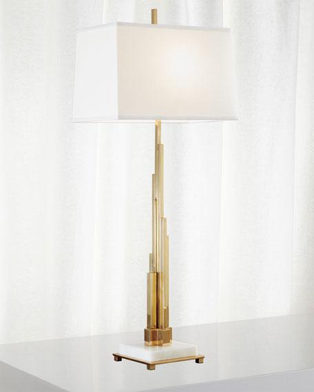 Metropolis Table Lamp - Brass
