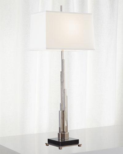 Metropolis Table Lamp - Nickel