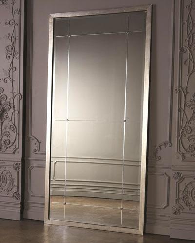 Beaumont Floor Mirror - Silver
