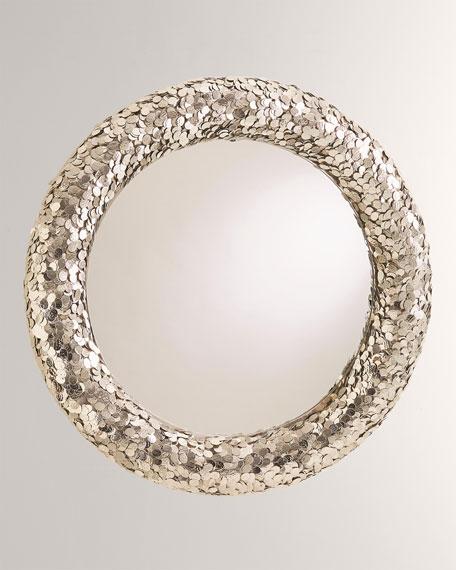 Gypsy Coin Mirror - Nickel
