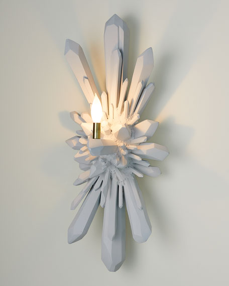 Global Views Facet Oversize Wall Sconce