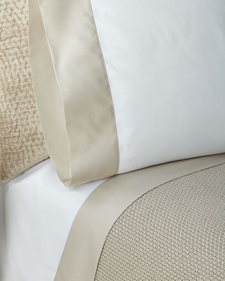 Ralph Lauren Home RLC Pique Border Satin King
