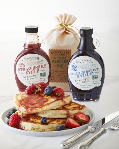 Premium Syrup Pancake Gift Crate