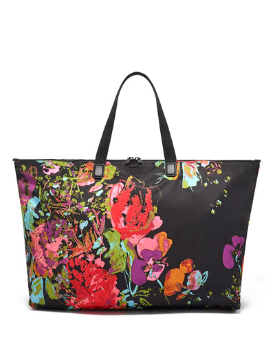 Just In Case Floral Tote Bag