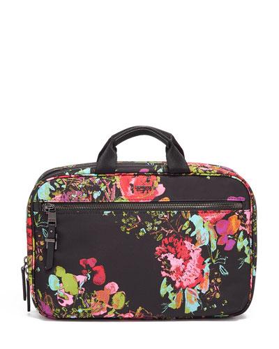 Madina Floral-Print Cosmetics Bag