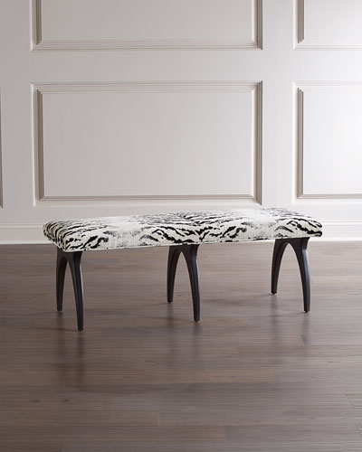 Emmanuelle Noir Finish Bench