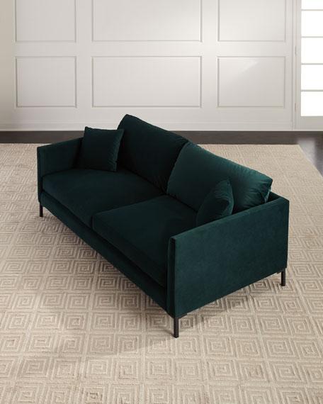 Dayton Velvet Sofa, 89