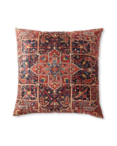 """Ethnic Floor Pillow, 36""""Sq."""