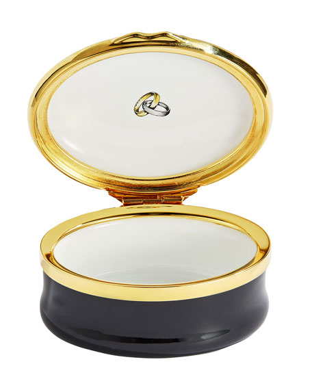 Mr. and Mrs. Enamel Box