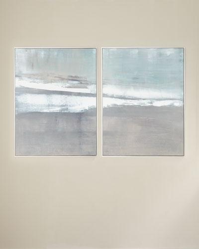 Oceans Apart Canvas Giclee by Carol Benson-Cobb