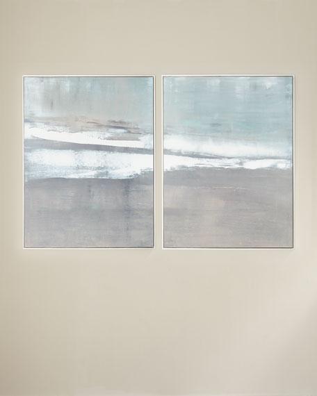 """Oceans Apart"" Canvas Giclee by Carol Benson-Cobb"