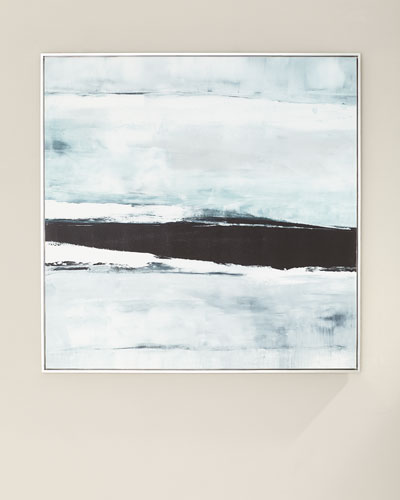 Seaside Canvas Giclee by Carol Benson-Cobb