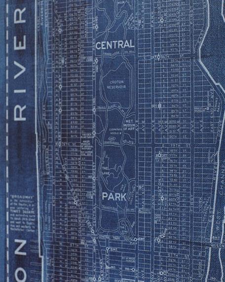 """Manhattan"" Limited Edition Giclee by Carol Benson-Cobb"