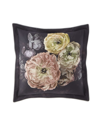 Le Poeme de Fleurs Midnight European Sham