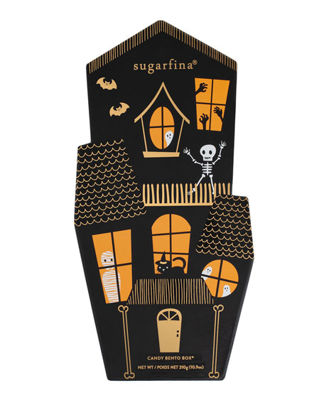 Halloween Haunted House 3-Piece Bento Box