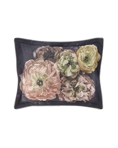 Le Poeme Fleurs Midnight Pillow
