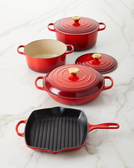 Exclusive 7-Piece Cerise Cookware Set