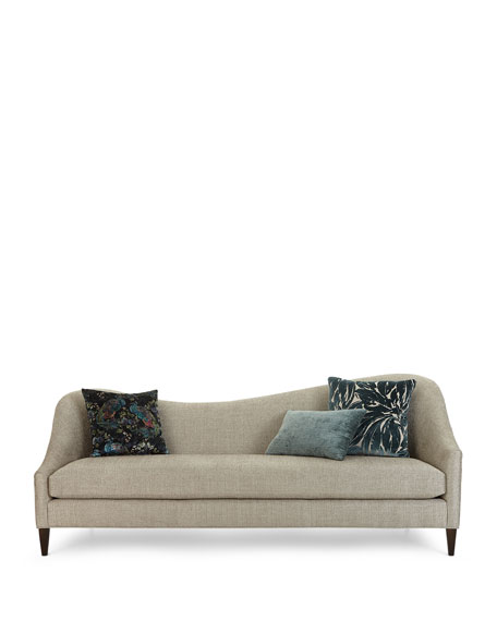 Raquel Right Side Curved Sofa, 92""