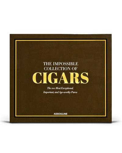 Humidor Case with The Impossible Collection of Cigars Book