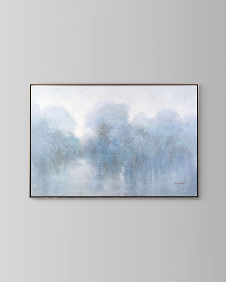 'Lavender Storm' Wall Art by Kingston