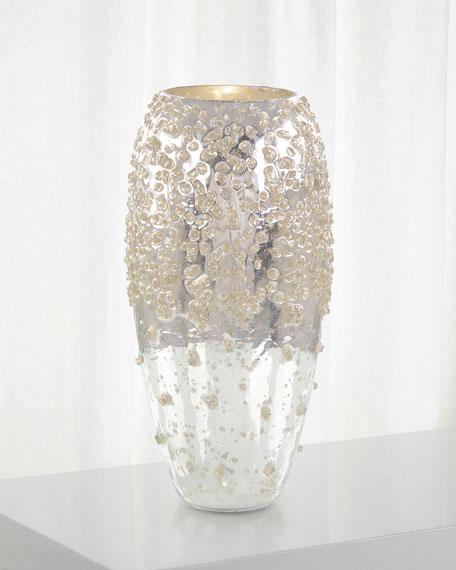Encrusted Sparkle Decorative Vase