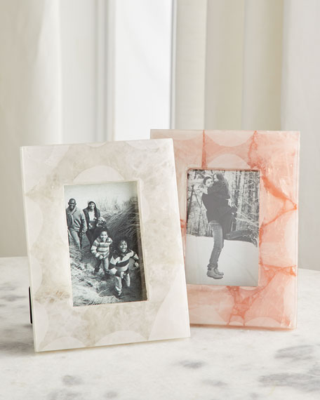John-Richard Collection Translucent Agate Picture Frame