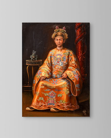 """""""Emperor Minh Mang"""" Painting by Roland Renaud"""